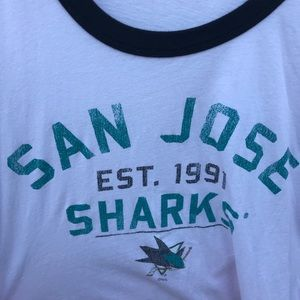NHL Tops - San Jose Sharks Hockey Tee